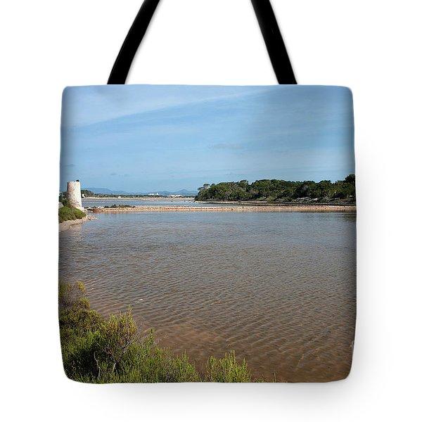 Ses Salines De Formentera Tote Bag