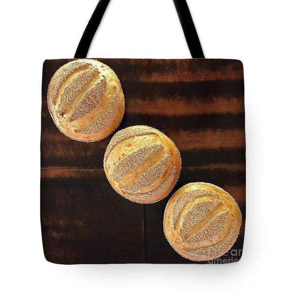 Sesame Seed Stripes 1 Tote Bag
