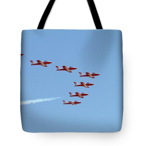 Seven Snowbird Fighters Tote Bag