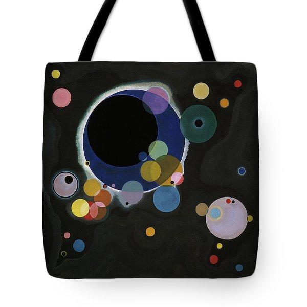 Several Circles - Einige Kreise Tote Bag
