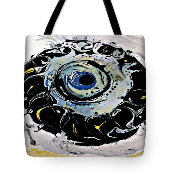 Tote Bag featuring the painting Sgc.m87  by 'REA' Gallery