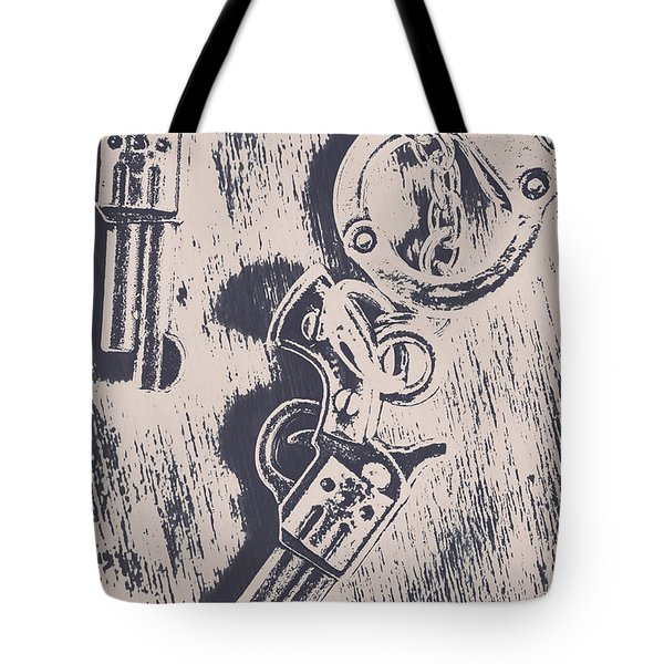 Shackled To The Law Tote Bag