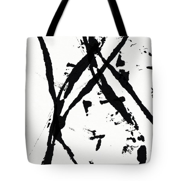 Shadow Abstract 1- Art By Linda Woods Tote Bag