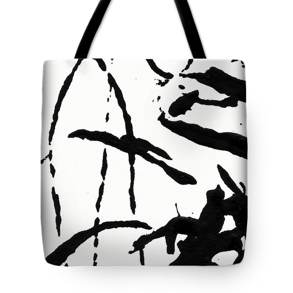 Shadow Abstract 2- Art By Linda Woods Tote Bag