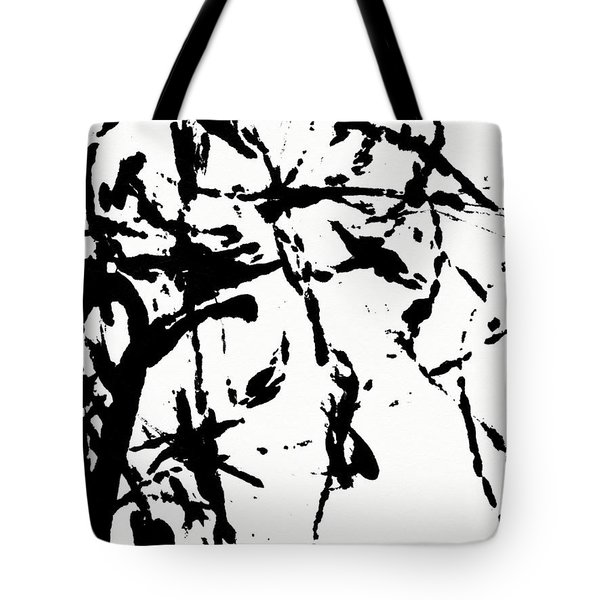 Shadow Abstract 3-- Art By Linda Woods Tote Bag