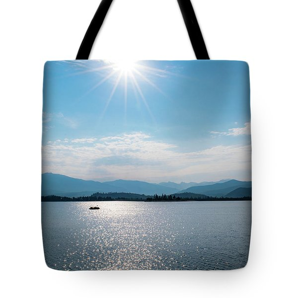 Shadow Mountain Lake Tote Bag