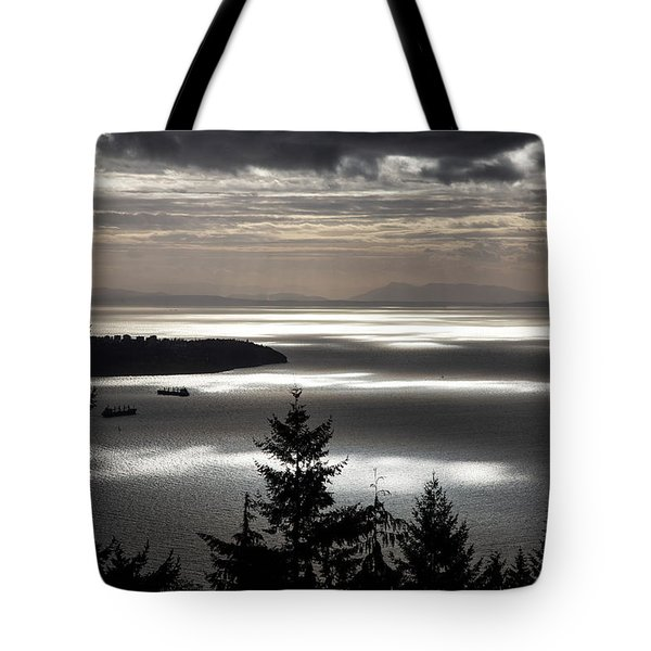 Shadowed Cloud Tote Bag
