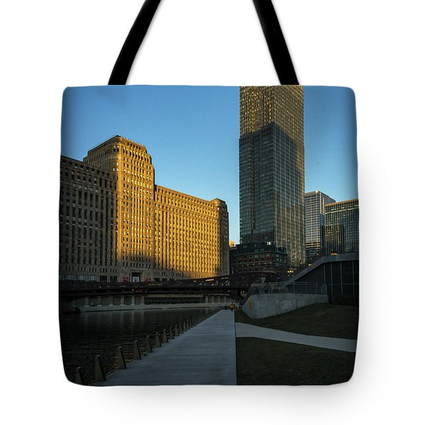 Shadows Of The City Tote Bag