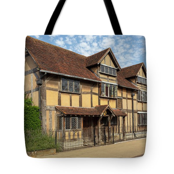 Shakespeares Birthplace Tote Bag