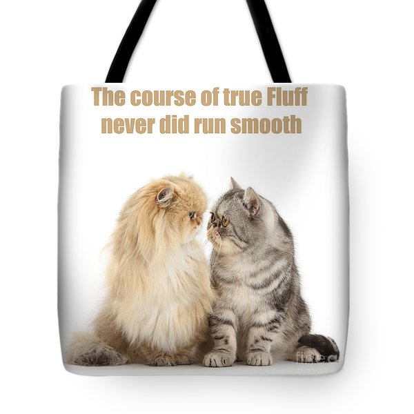 Tote Bag featuring the photograph Shakespurr Midsummer Cats Dream by Warren Photographic
