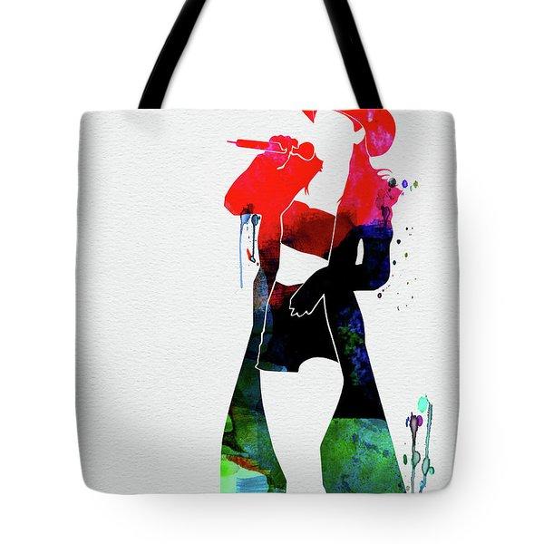 Shania Watercolor Tote Bag
