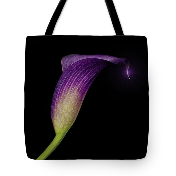Shape Of A Lily Tote Bag