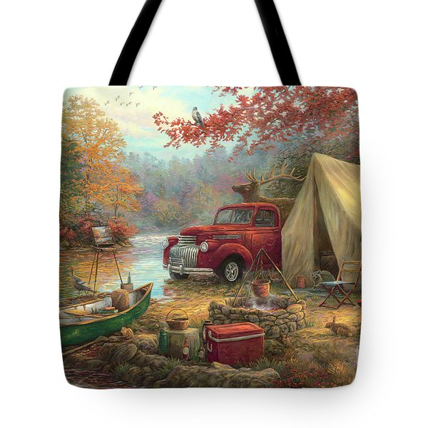 Share The Outdoors Tote Bag