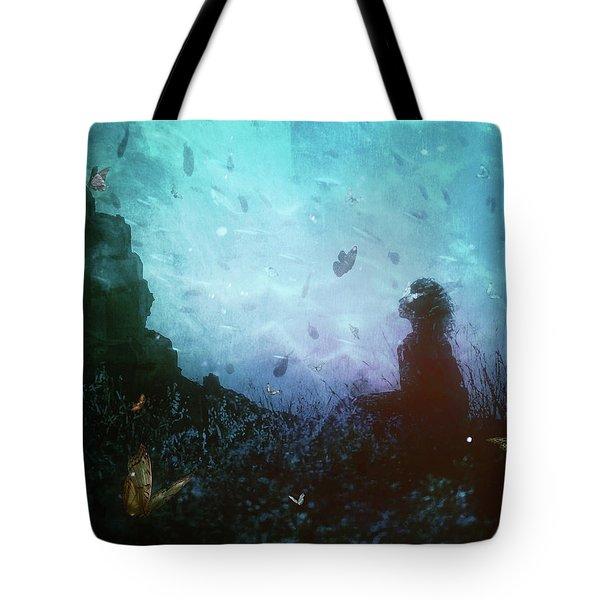 Shattered Memories Tote Bag