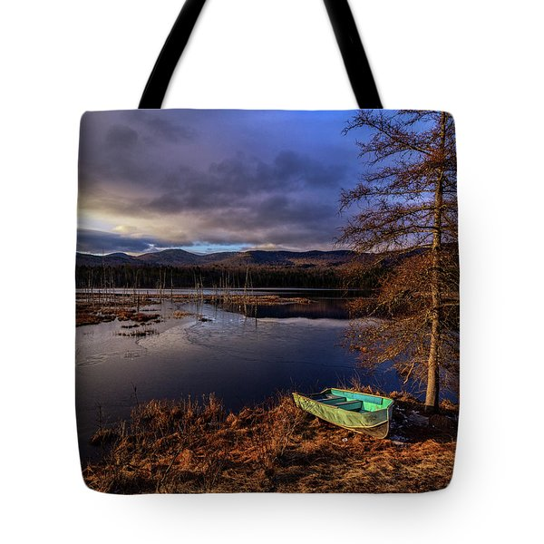 Shaw Pond Sunrise - Landscape Tote Bag