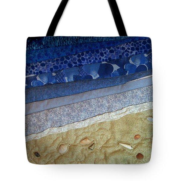 She Sews Seashells On The Seashore Tote Bag