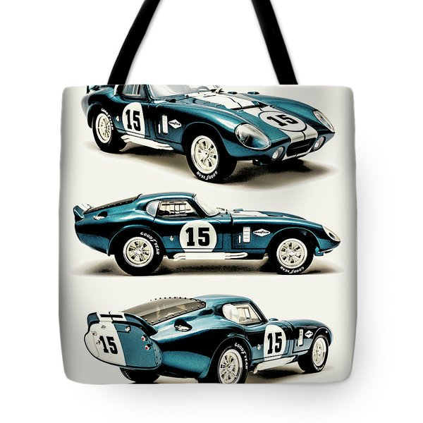 Shelby Cobra Daytona Tote Bag