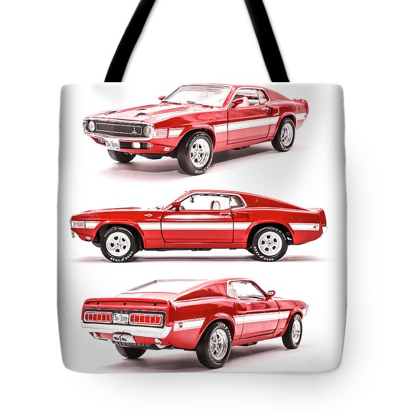 Shelby Gt500  Tote Bag
