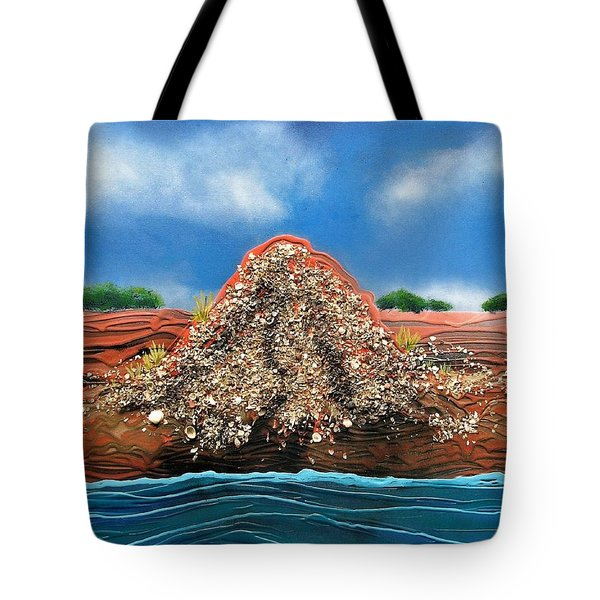 Shell Mound Tote Bag