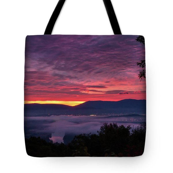 Shenandoah Valley Dawn Tote Bag