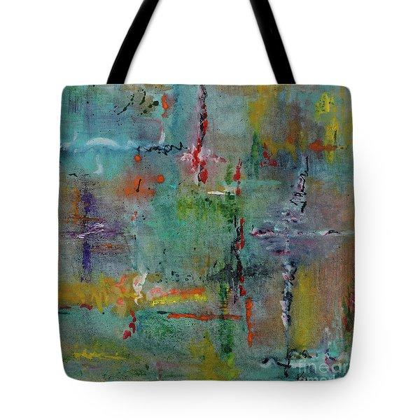 Shimmering Tote Bag