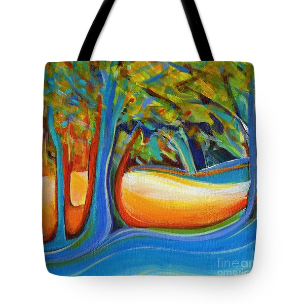 Shimmering Whispers Tote Bag