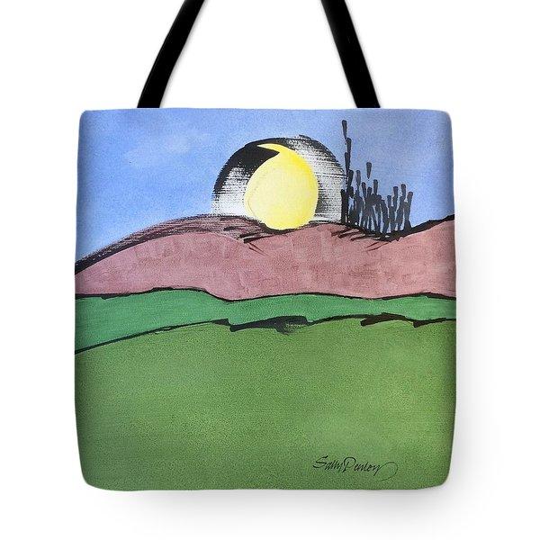 Shine On, Harvest Moon Tote Bag