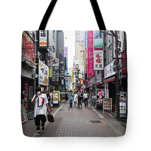 Shinjuku Tote Bag