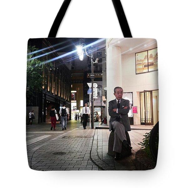 Shinjuku Man Tote Bag