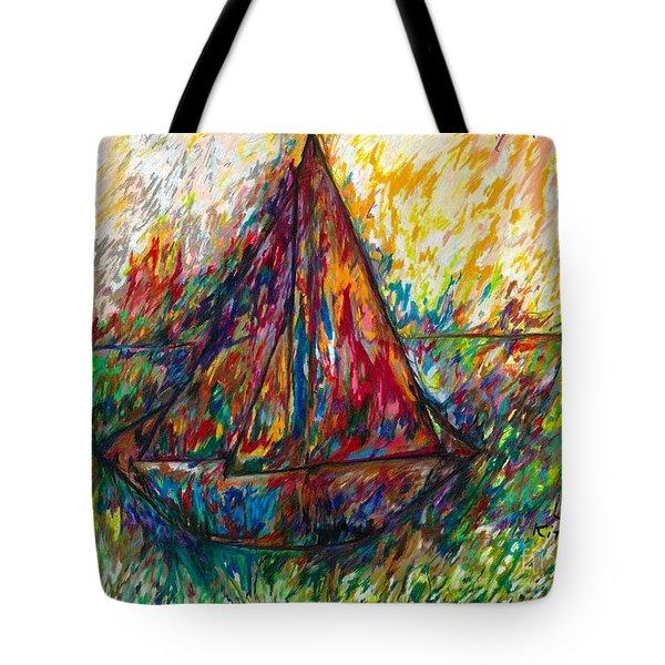 Ship In Color Tote Bag