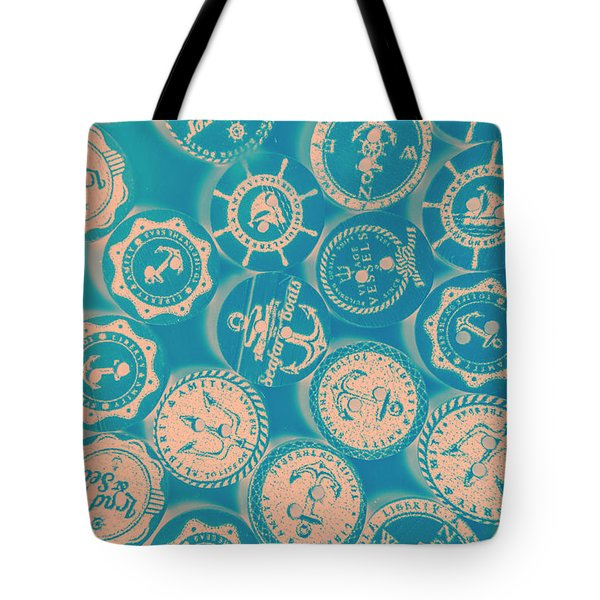 Ship Shape Nautical Designs Tote Bag