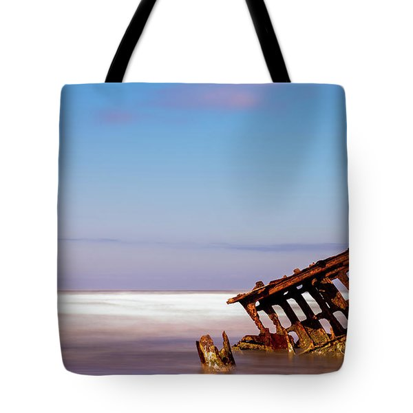 Ship Wreck Tote Bag