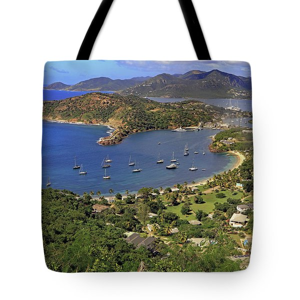 Tote Bag featuring the photograph Shirley Heights by Tony Murtagh