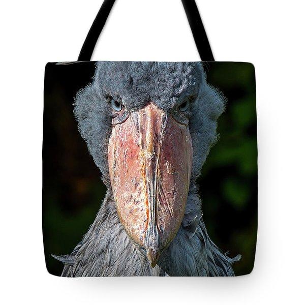 Shoe-billed Stork Tote Bag