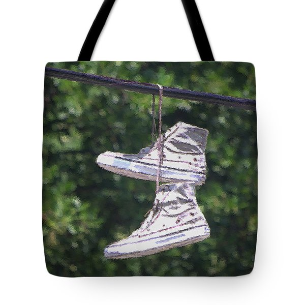 Shoefiti 72793dp Tote Bag