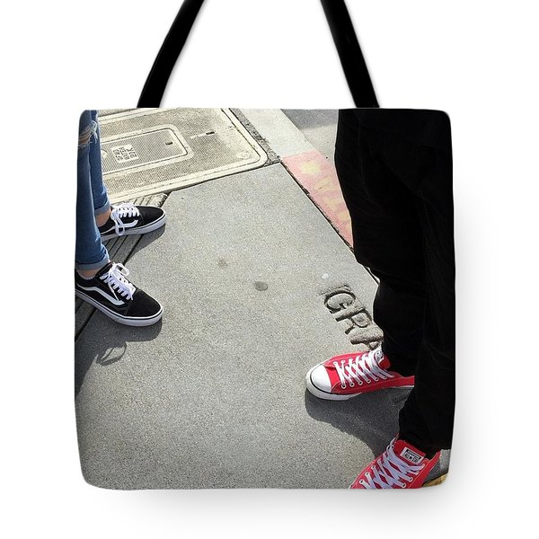 Shoes In The City Tote Bag