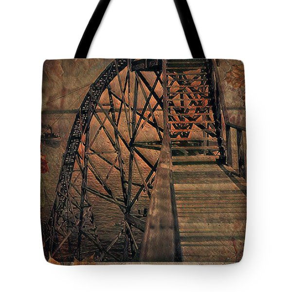 Shoot The Chute Tote Bag