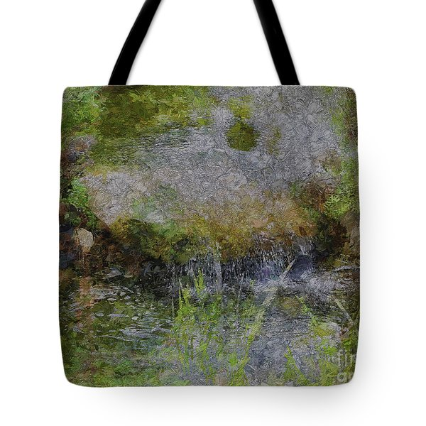 Tote Bag featuring the photograph Shortfall by Leigh Kemp
