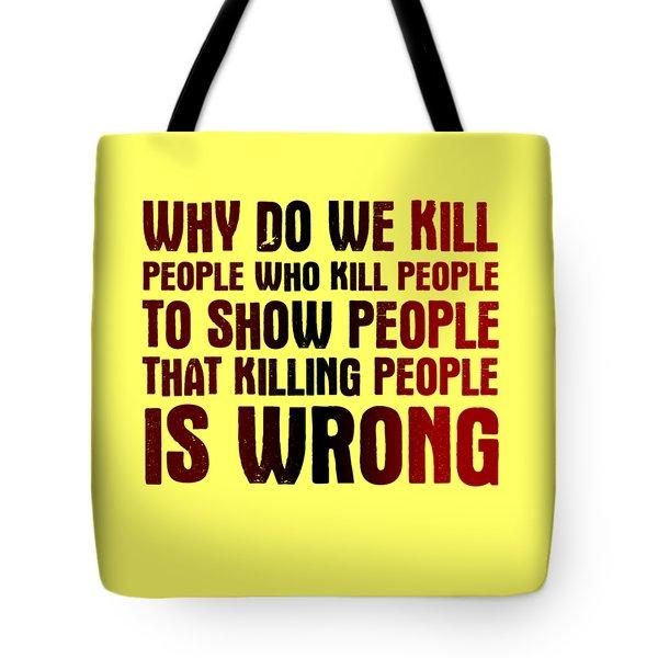 Showing People Tote Bag
