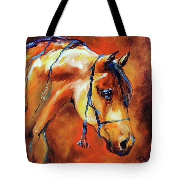 Showtime Arabian Tote Bag