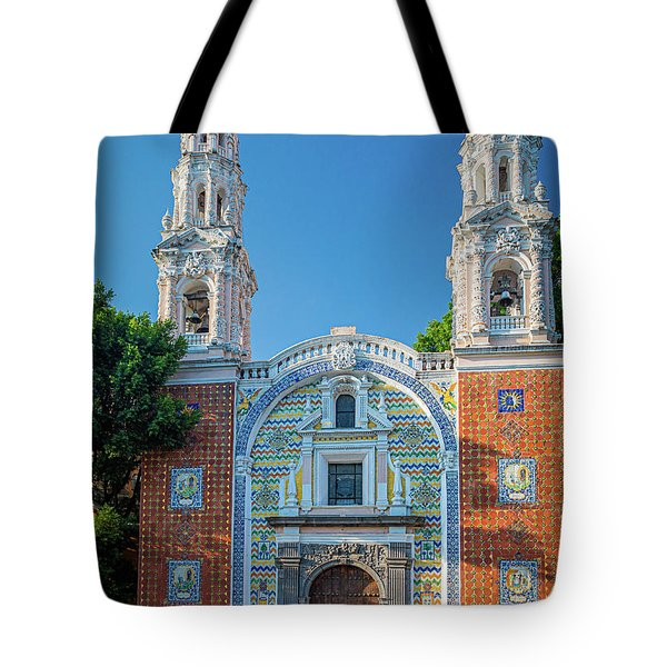Shrine Of Our Lady Of Guadalupe Tote Bag