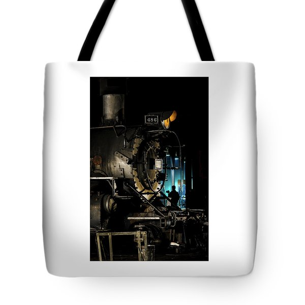 Shutting Down Tote Bag
