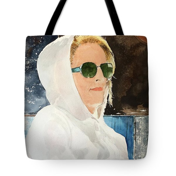 Sidewalk Cafe Tote Bag