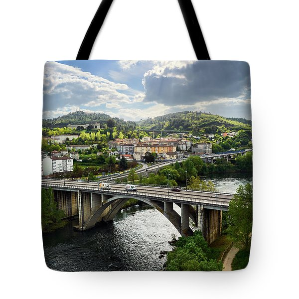 Sights From The Millennium Bridge Tote Bag