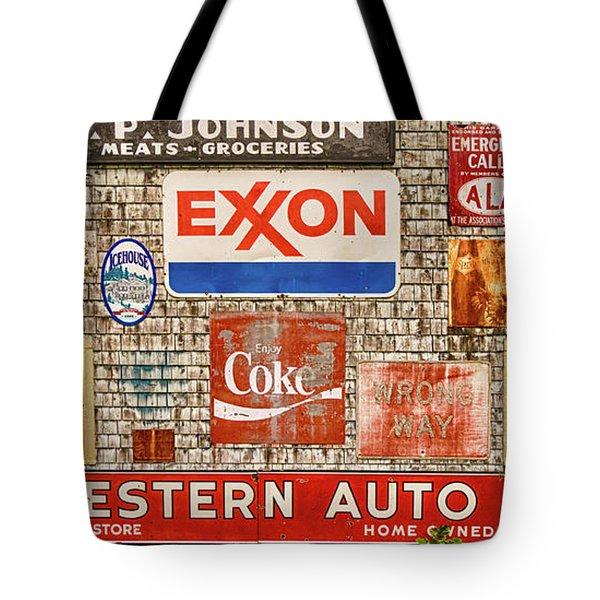 Signage I Tote Bag
