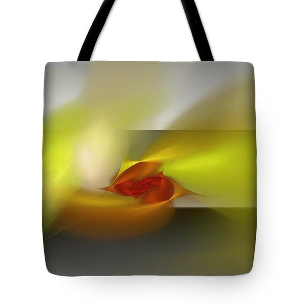 Signals Through The Flames Tote Bag
