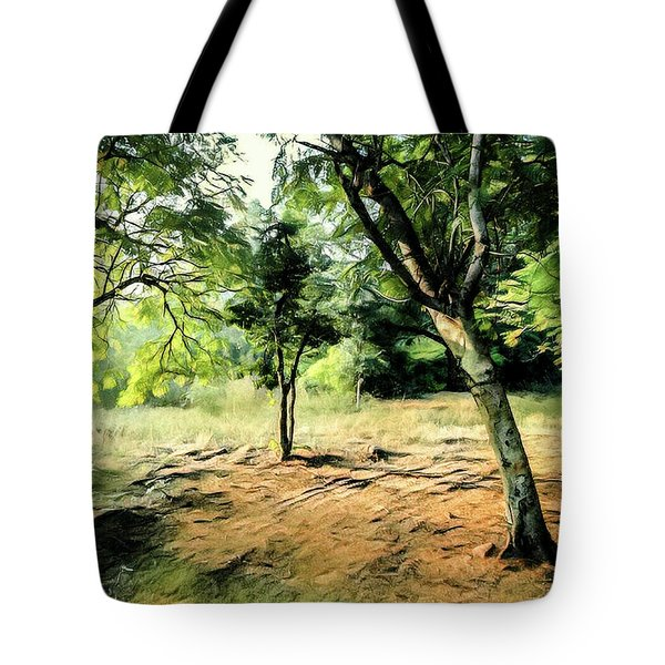 Silence Of Forest Tote Bag