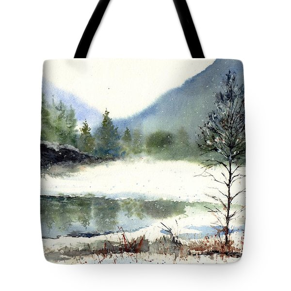 Silent Exile Tote Bag