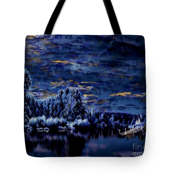 Silent Moments Tote Bag