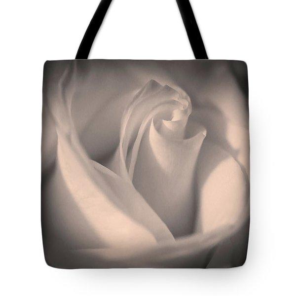 Silky Pastel Rose Tote Bag